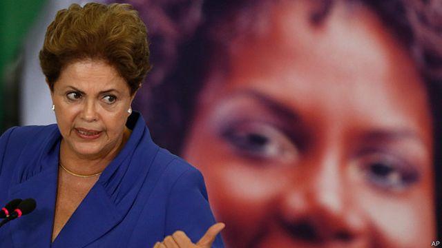 Undang-undang baru yang ditandatangani Presiden Rousseff berlaku bagi pelaku kekerasan rumah tangga dan peleceh perempuan.