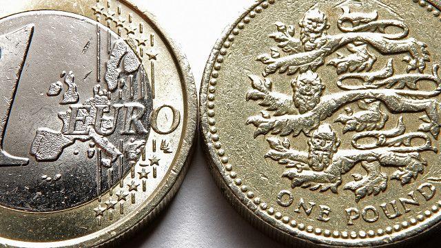 Євро і фунт