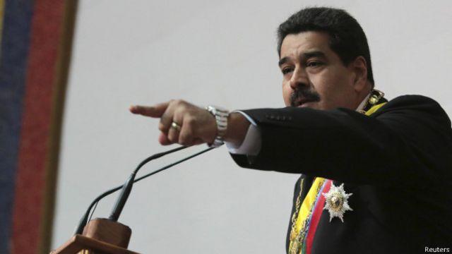 Nicolás Maduro, nesta terça (Reuters)