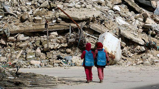 جنگ بر زندگی چند میلیون کودک سوری تاثیری ناگوار داشته است