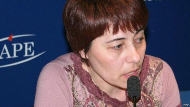 Правозащитник Надежда Атаева