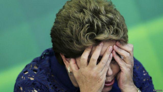 Presidenta brasileña, Dilma Rousseff