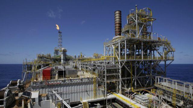 Plataforma Petrobras   AFP