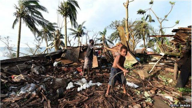 瓦努阿圖是世界上最貧窮的國家之一。