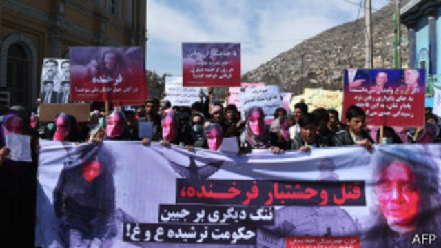 သတ်ဖြတ်မှုမှာ ပါဝင်သူတွေကို ဖော်ထုတ် အရေးယူ ပေးဖို့ တောင်းဆို ဆန္ဒပြ။