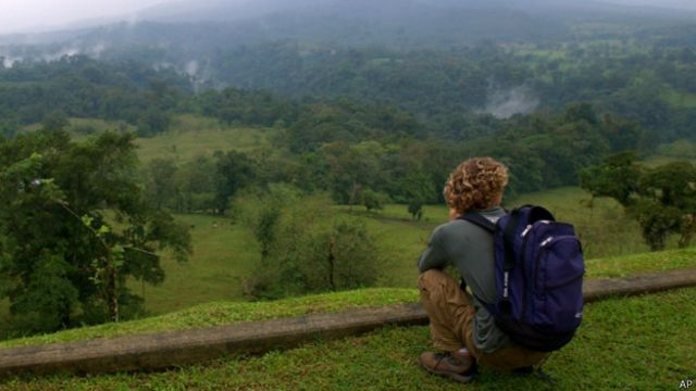 Uno de los principales atractivos de Costa Rica es su naturaleza.