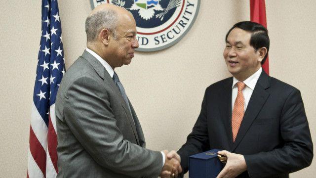 Đại tướng Trần Đại Quang, vừa thăm Mỹ trong đầu năm 2015, trong chuyến thăm đầu tiên của một Bộ trưởng Công an Việt Nam tới Mỹ.