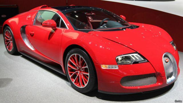 Un Bugatti Veyron de 2011