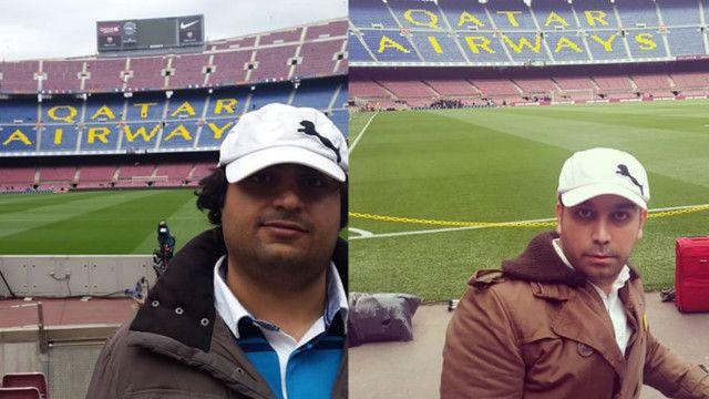 عکسهای حسین جوادی (راست) و میلاد حجت الاسلامی در حسابهای اینستاگرامشان