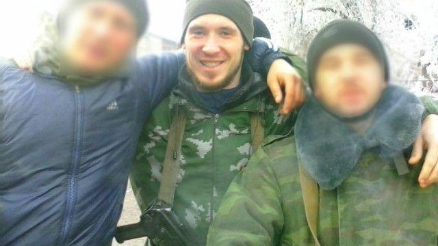 Дмитрий Сапожников говорит, что участвовал в боях близ Донецка с октября 2014 года