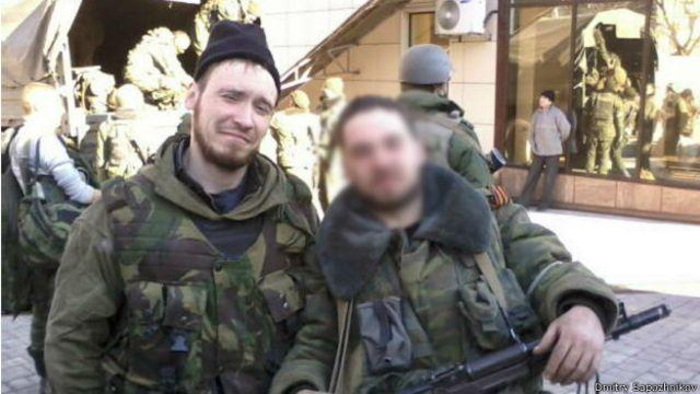 Сапожников уже потерял несколько друзей в боях в Донбассе, но говорит, что готов пробыть там еще год