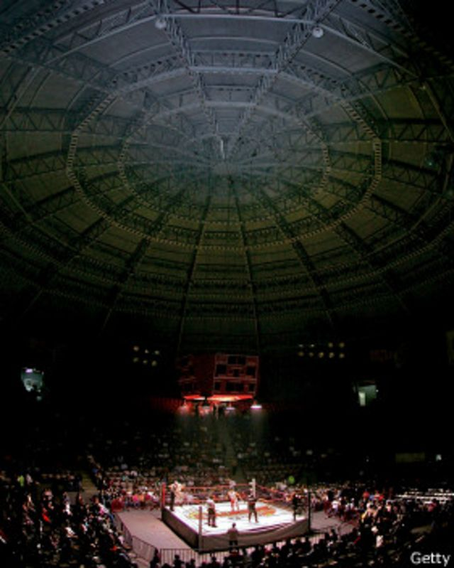 El Auditorio Municipal de Tijuana es considerado como una de las principales arenas del espectáculo de la lucha.