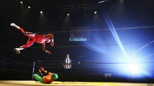 La lucha libre mexicana se presentó hace unos años en Londres en un espectáculo que agotó las entradas.