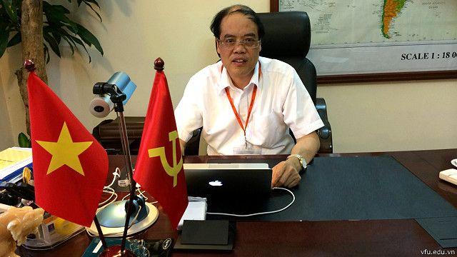 Ông Trần Văn Chứ, Hiệu trưởng Đại học Lâm nghiệp