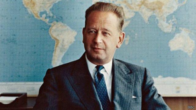 Dag Hammarskjöld est mort dans un accident d'avion le 18 septembre 1961 en Rhodésie du Nord, l'actuel Zambie.