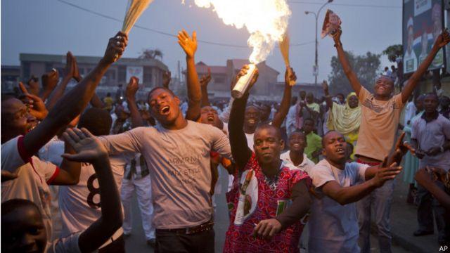 Сторонники Бухари празднуют победу