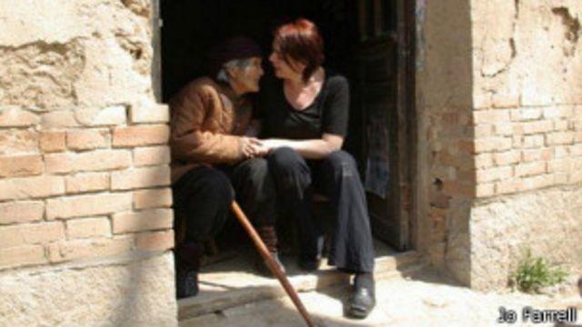 Cao Mei Ying y Jo Farrell