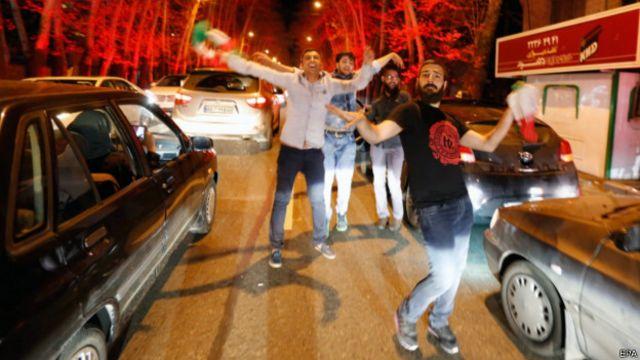 Празднования в Тегеране