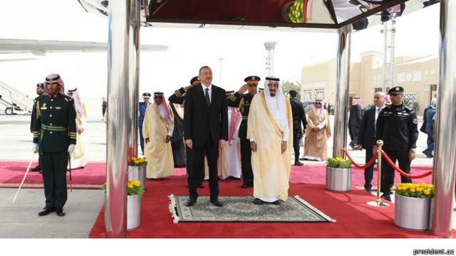 Prezident Əliyev Ər-Riyadda neft-qaz sahəsində ikitərəfli əməkdaşlıq məsələlərini müzakirə edib