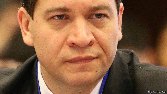 Giáo sư Vladimir Kolotov phụ trách nghiên cứu Viễn Đông ở Đại học Quốc gia St Petersburg