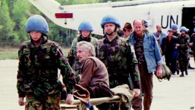 Эвакуация из Сребреницы