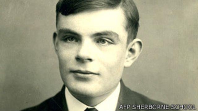 Alan Turing a los 16 años