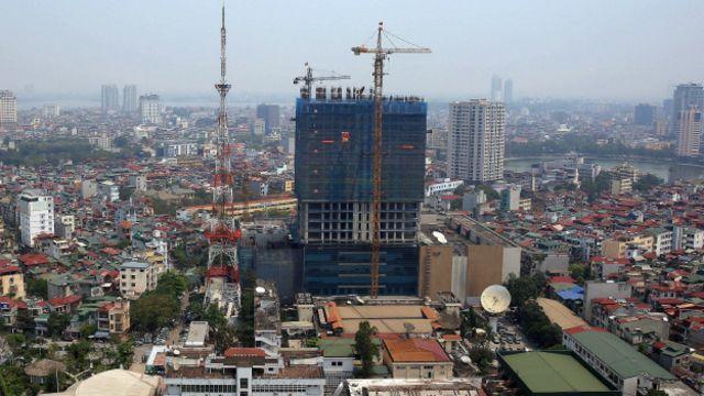 Torre de TV en Hanoi, Vietnam