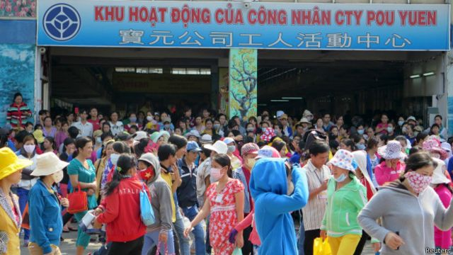 Fábrica en Hanoi, Vietnam