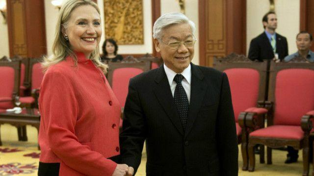 Bà Clinton đã đòi gặp lãnh đạo Đảng CS Việt Nam bằng được để nêu vấn đề nhân quyền