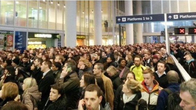 倫敦橋火車站正在擴建,已經「超負荷」。