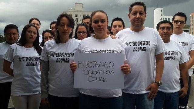 Daniela Peralta quiere poder darle un riñón a su cuñada.