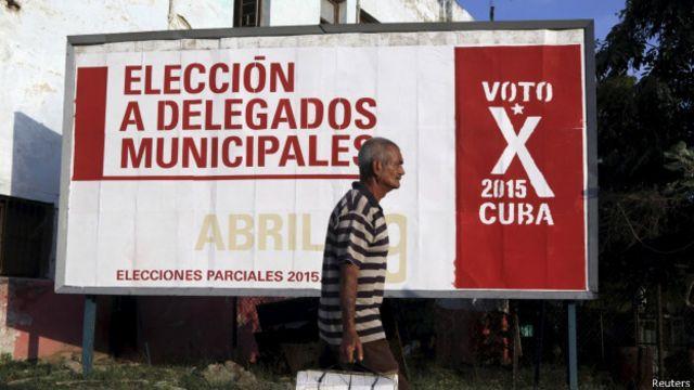Las elecciones se celebran sin campaña.