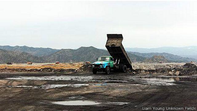 Добыча угля в Баотоу