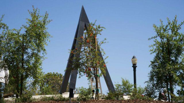 Мемориальный обелиск в память жертв армянского геноцида