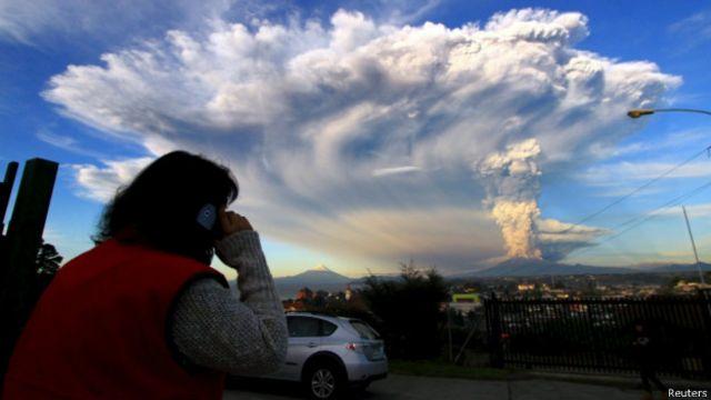 Chile tiene la segunda cadena volcánica más grande y de mayor actividad en el mundo.