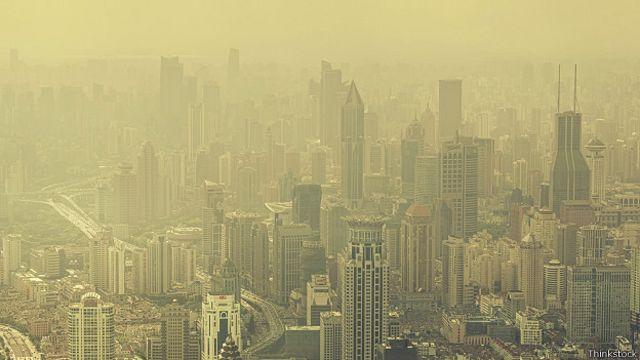 Загрязнение воздуха в Шанхае