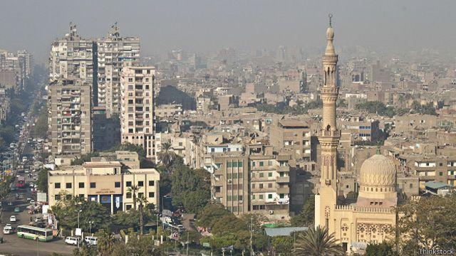 Вид на улицы Каира