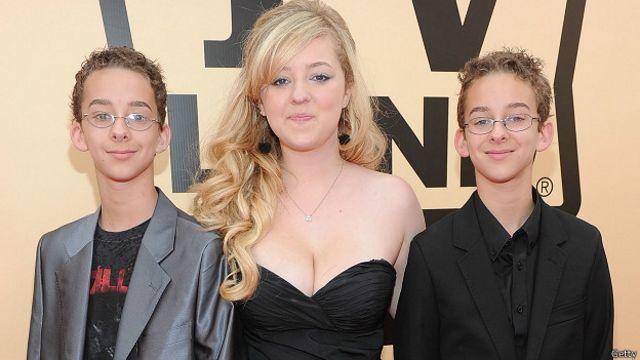 Sawyer Sweeten y sus hermanos