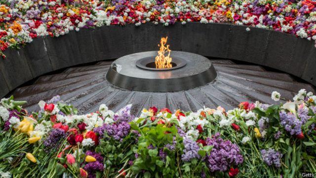 Памятная церемония в Ереване