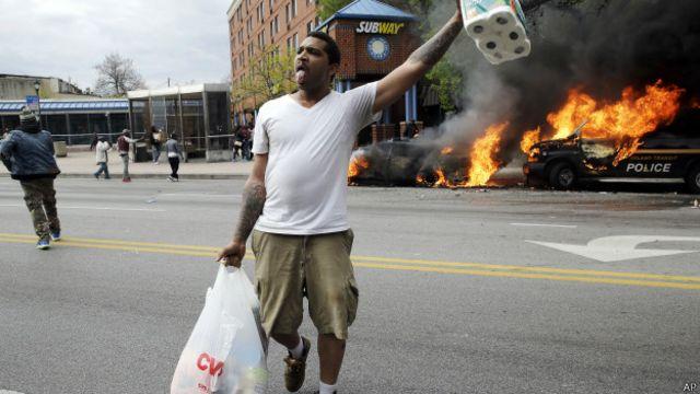 Ee Uu Toque De Queda Y Estado De Emergencia En Baltimore Por Disturbios Bbc News Mundo