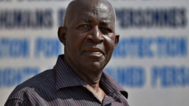 Mbonimba  se trouve en unité de soins dans un état critique