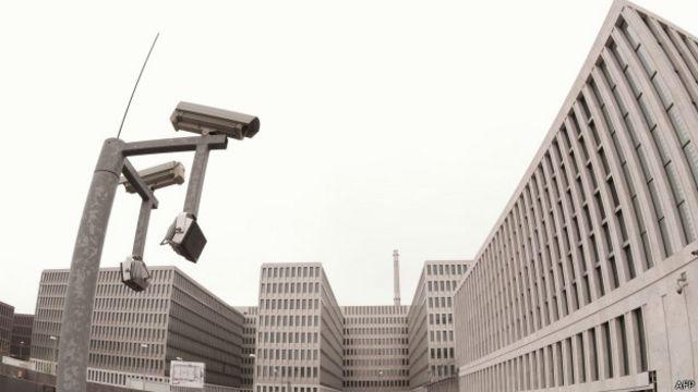 Строящаяся штаб-квартира БНД в Берлине