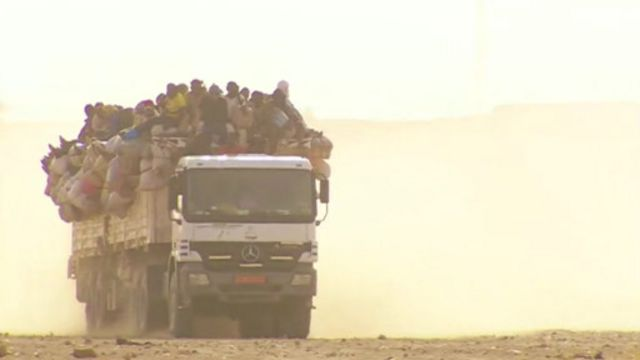Les autorités du Niger ont ordonné aux réfugiés, originaires du Nigeria, de quitter l'île.