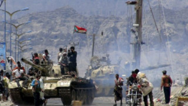 'Yan tawayen Houthi na ci gaba da dannawa duk da lugudan wuta