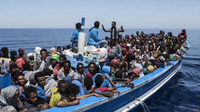 از ابتدای سال جاری میلای بیش از ۱۷۰۰ مهاجر به دلیل غرق شدن کشتی هایشان در دریای مدیترانه کشته شده اند