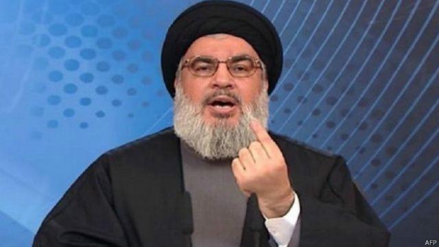"""حسن نصرالله دبیرکل حزب الله لبنان گفته """"حزب الله نیازهای مالی خود را به طور مستقیم از ایران دریافت می کند"""""""
