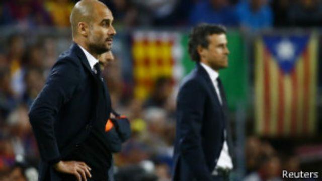Para Pep Guardiola, exentrenador del Barcelona, su regreso al Camp Nou fue amargo.