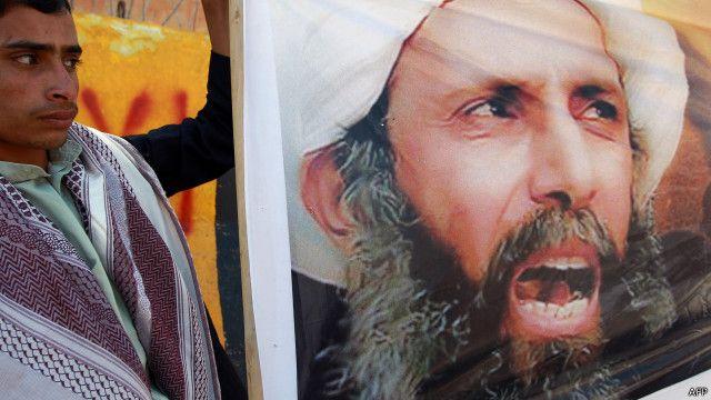 قبض على النمر في عام 2012 من بيته في القطيف ثم صدر عليه حكم بالإعدام بعد ذلك.