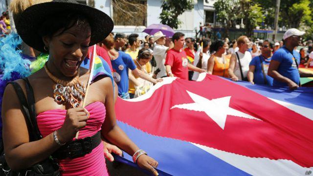 cuba, manifestación, orgullo gay, lgtb