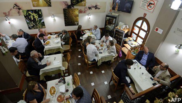 Restaurante en Caracas